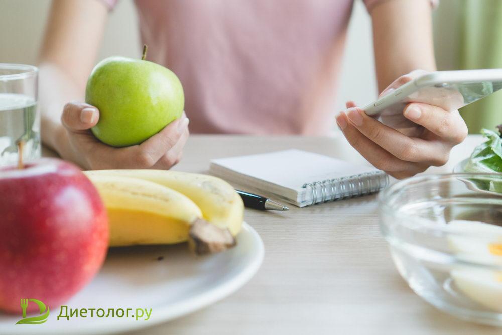 проблема дефицита калорий для похудения