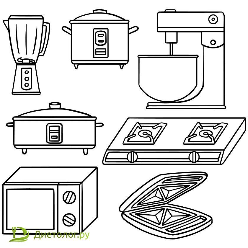 Методы приготовления еды