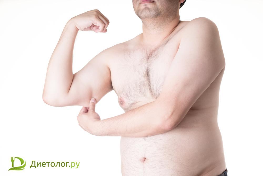 потерять не только вес, но и мышечную массу
