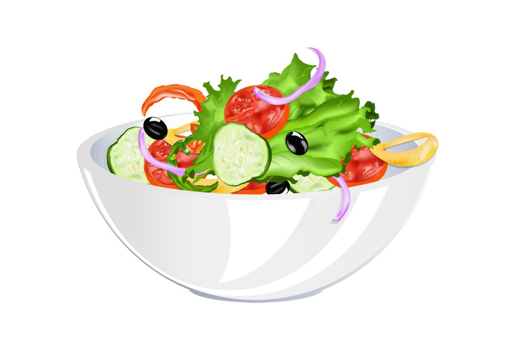 Овощной салат Тунис