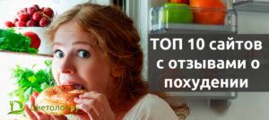 10 лучших сайтов с отзывами о похудении